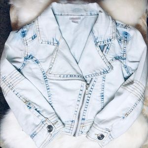 Other - Adorable XS 4/5 Girls Jean Jacket- BRAND NEW